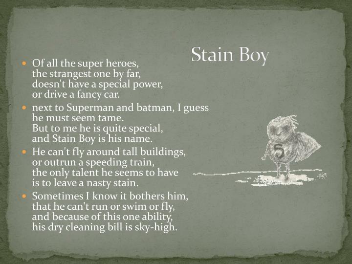 Stain Boy
