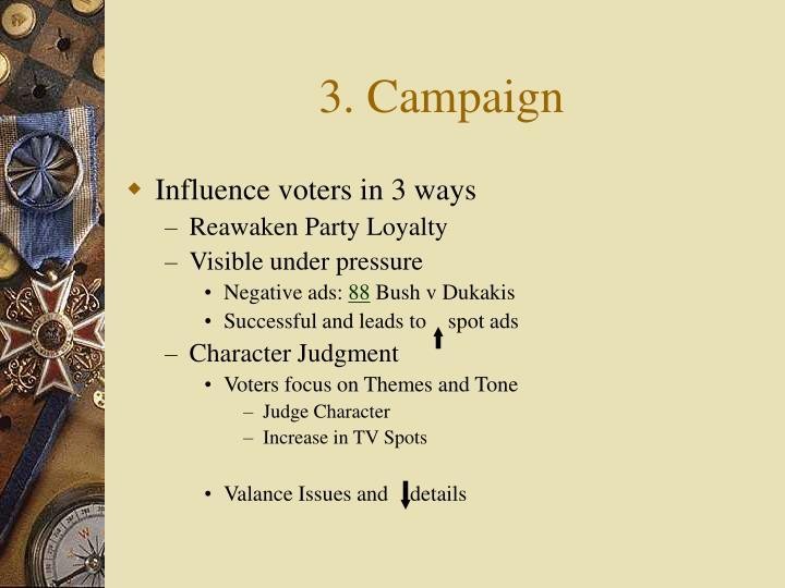 3. Campaign