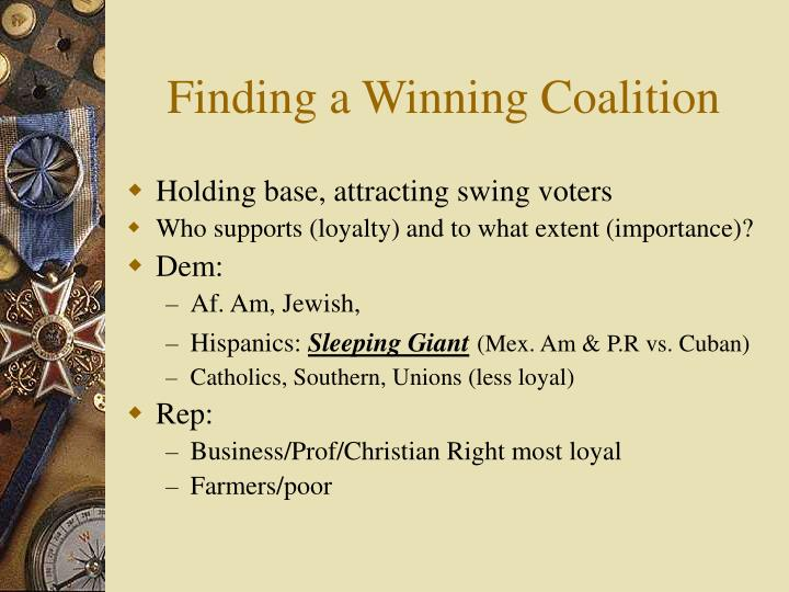 Finding a Winning Coalition
