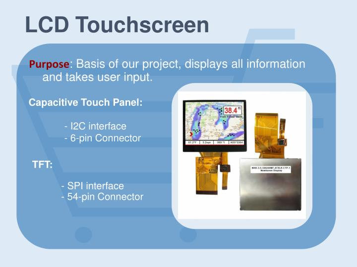 LCD Touchscreen