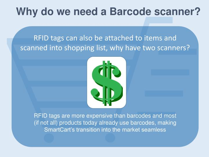 Why do we need a Barcode scanner?