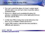 6 2 6 phase shift keying psk