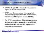 6 6 2 pon passive optical network6