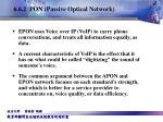 6 6 2 pon passive optical network7