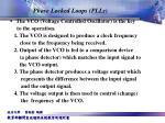 phase locked loops plls1