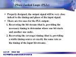 phase locked loops plls2