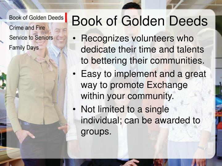 Book of Golden Deeds