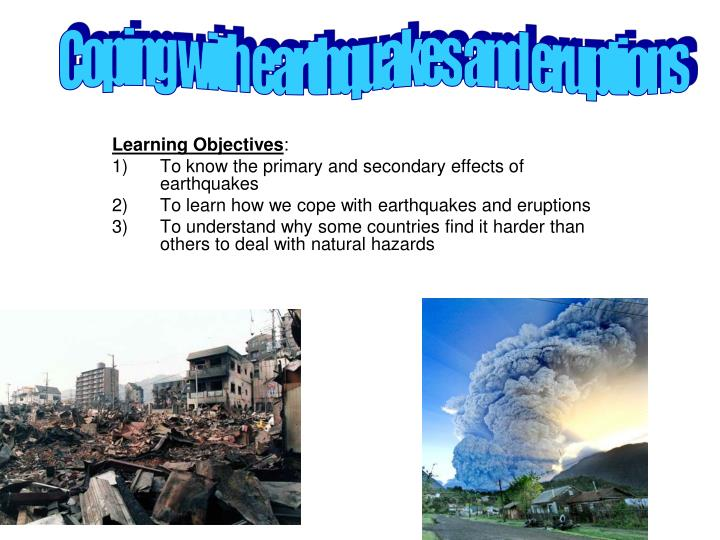 impact of earthquake hazards depends primarily Start studying geology learn vocabulary, terms, and more with flashcards, games, and other study tools.