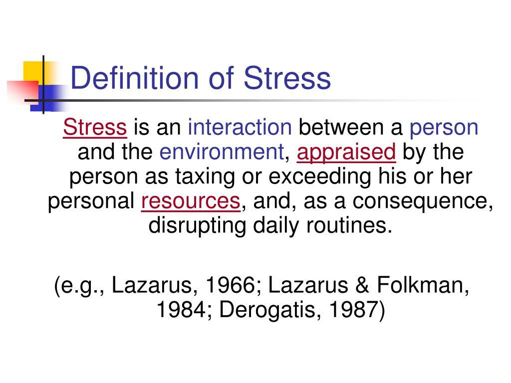 PPT - A Meta-Analysis of Stress in Teachers PowerPoint ...