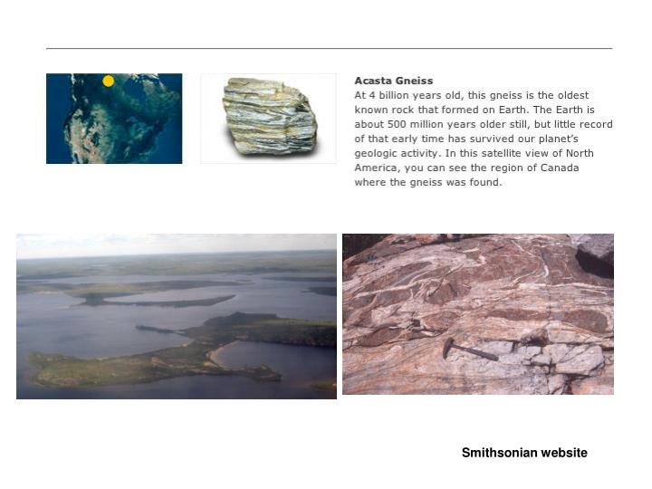 Smithsonian website