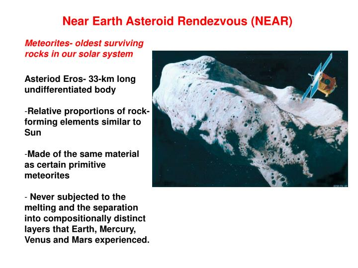 Near Earth Asteroid Rendezvous (NEAR)
