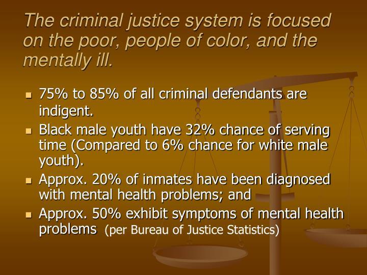mentally ill in criminal justice sysytem