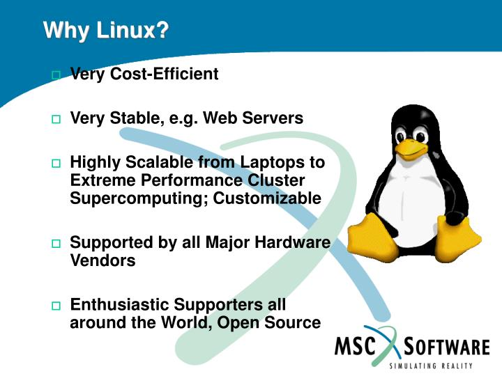 Why linux