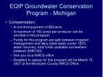 eqip groundwater conservation program michigan