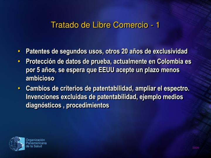 Tratado de Libre Comercio - 1