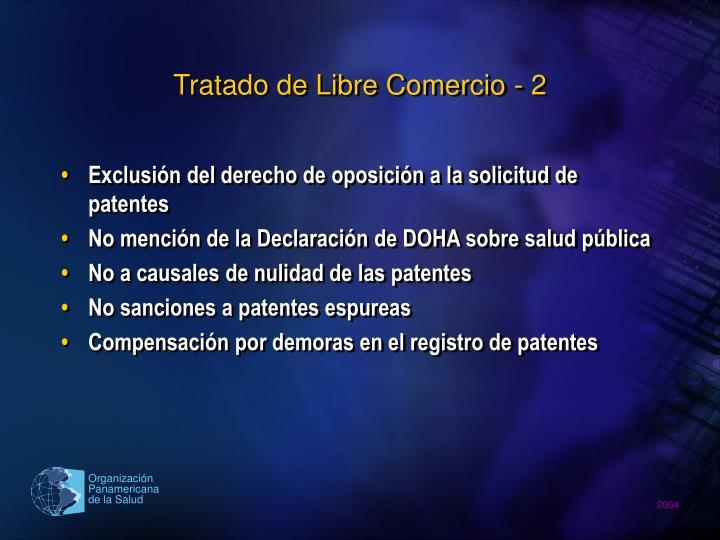 Tratado de Libre Comercio - 2