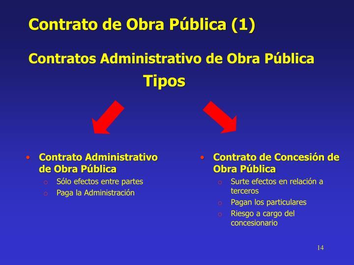 Contrato de Obra Pública (1)