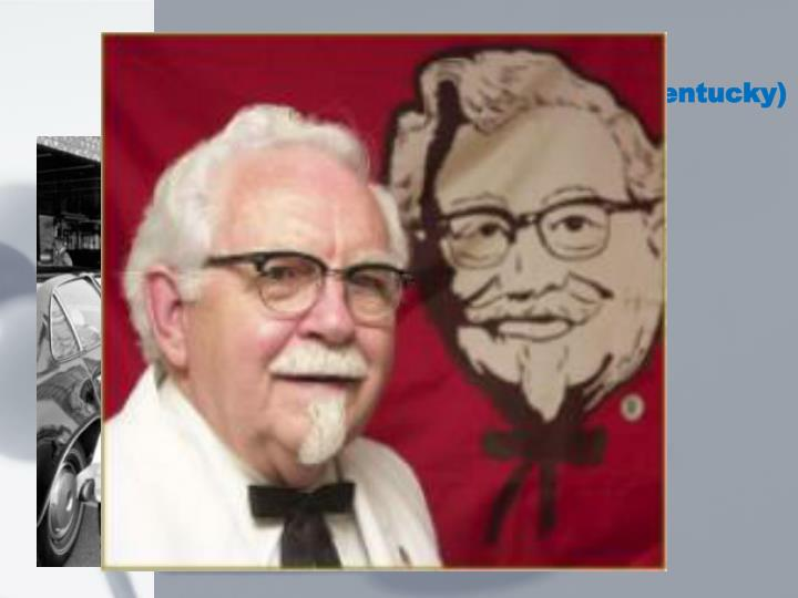an introduction to the history of kfc Few know the true story behind kfc founder's rise to finger-lickin' fame and  hearing how colonel  an early introduction to cooking before he was given  his.