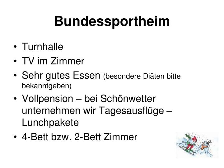 Bundessportheim