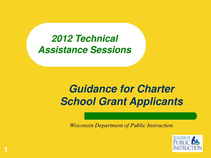 2012 Technical Assistance Sessions