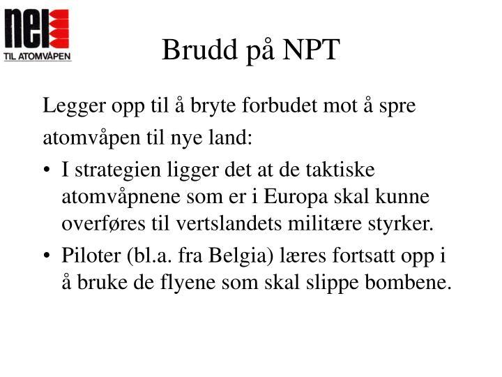 Brudd på NPT