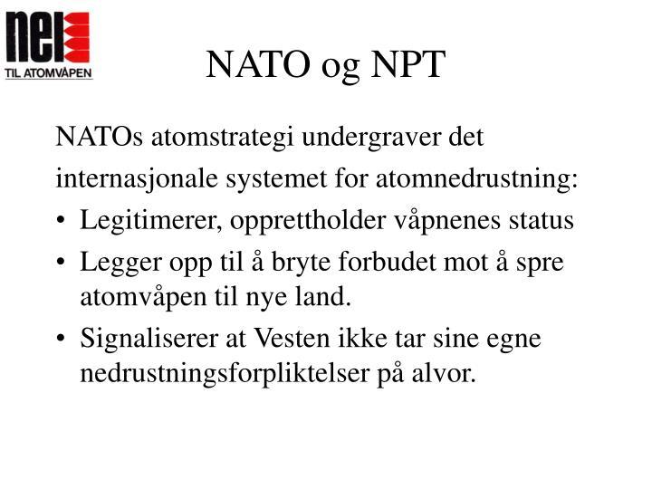 NATO og NPT