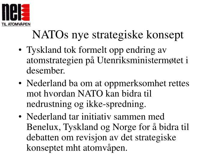 NATOs nye strategiske konsept