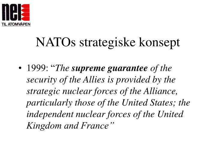 NATOs strategiske konsept