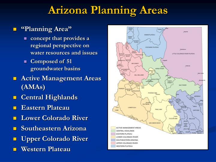 Arizona planning areas