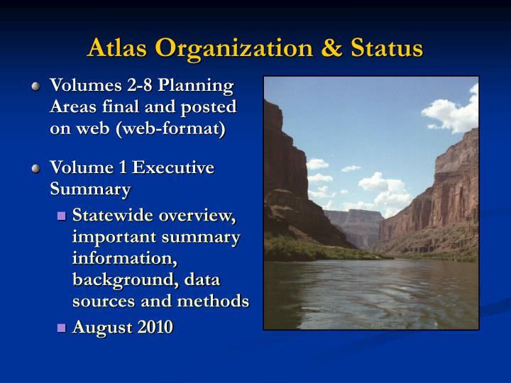 Atlas Organization & Status