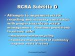 rcra subtitle d2