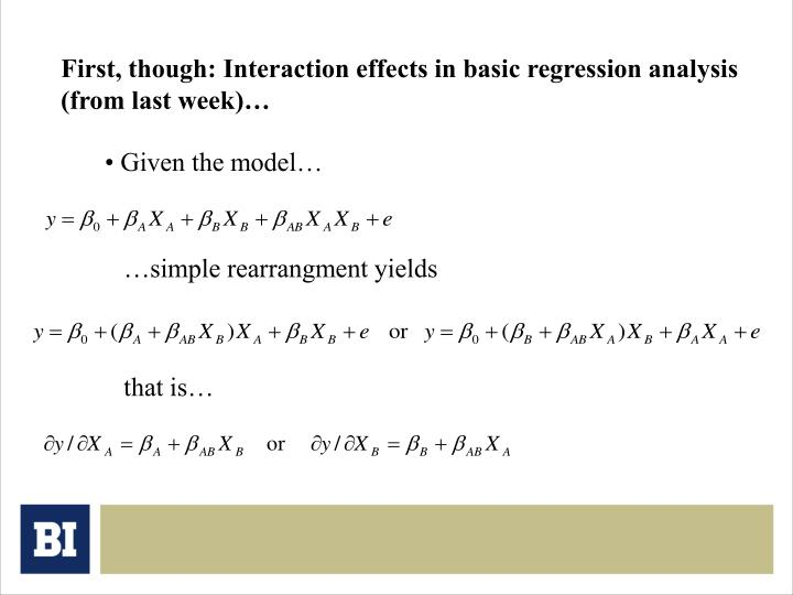 First, though: Interaction effects in basic regression analysis (from last week)…
