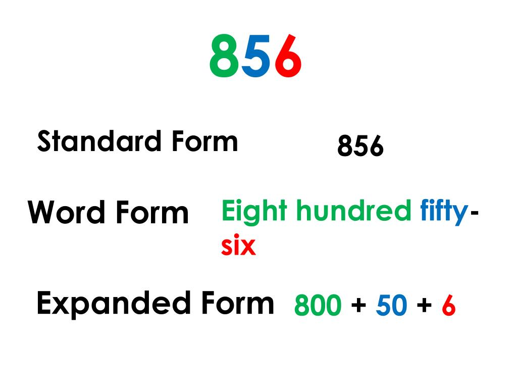 expanded form of 856  PPT - Math Grade 11 PowerPoint Presentation, free download ...