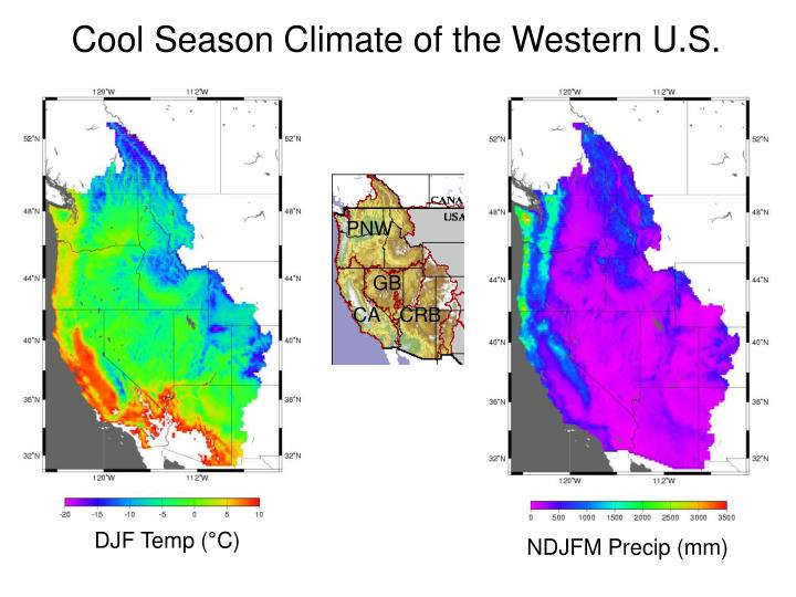 Cool Season Climate of the Western U.S.