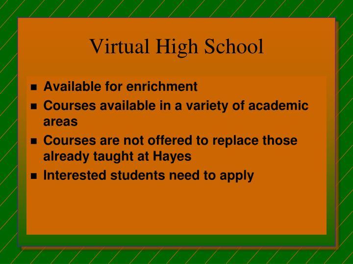 Virtual High School