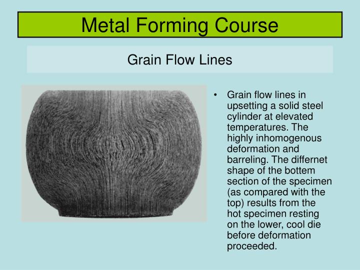 Metal forming course2