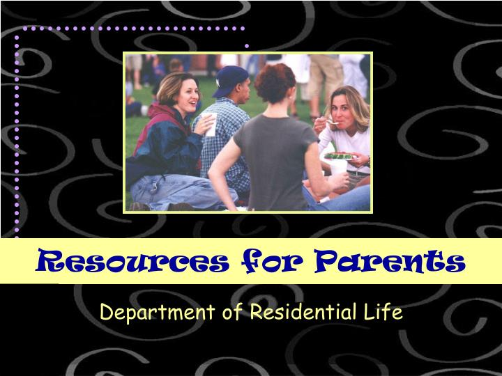 resources for parents n.