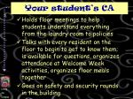 your student s ca1