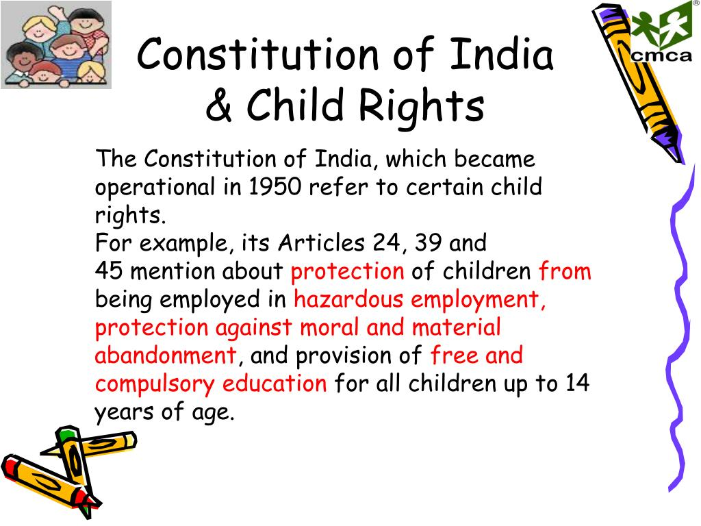 PPT - Child Rights & Indian Laws PowerPoint Presentation - ID:5920260