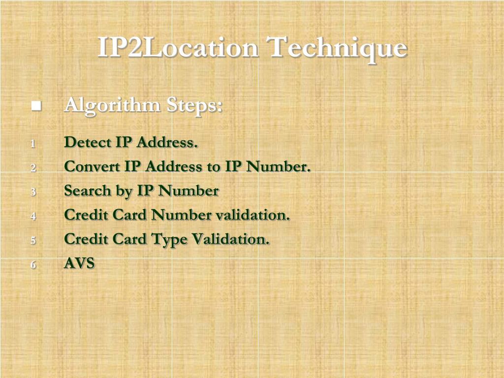 PPT - استخدام آلية التواجد الجغرافي في التجارة الإلكترونية