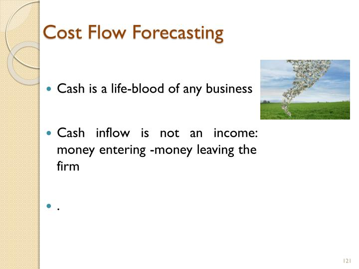 Cost Flow Forecasting