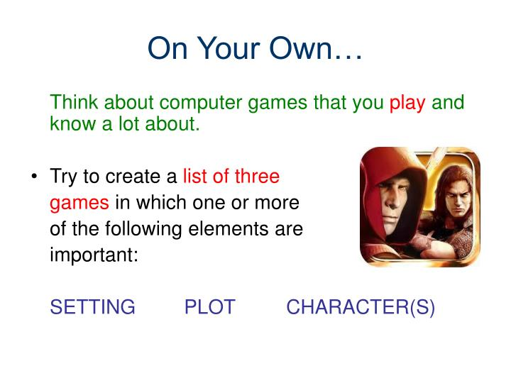 how to create a computer game using powerpoint