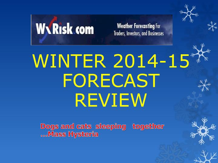 winter 2014 15 forecast review n.