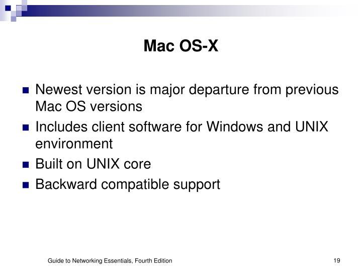 Mac OS-X