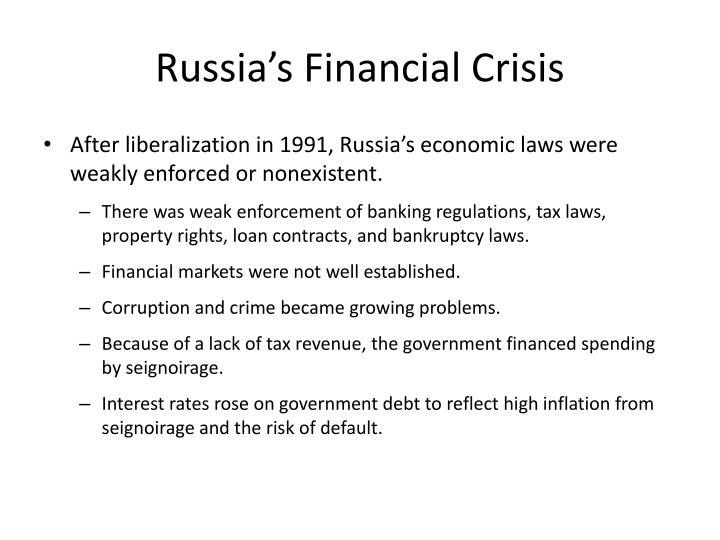 Russia's Financial Crisis