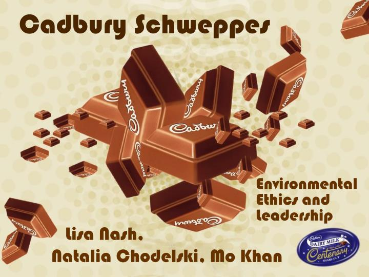 cadbury scweppes swot and environments