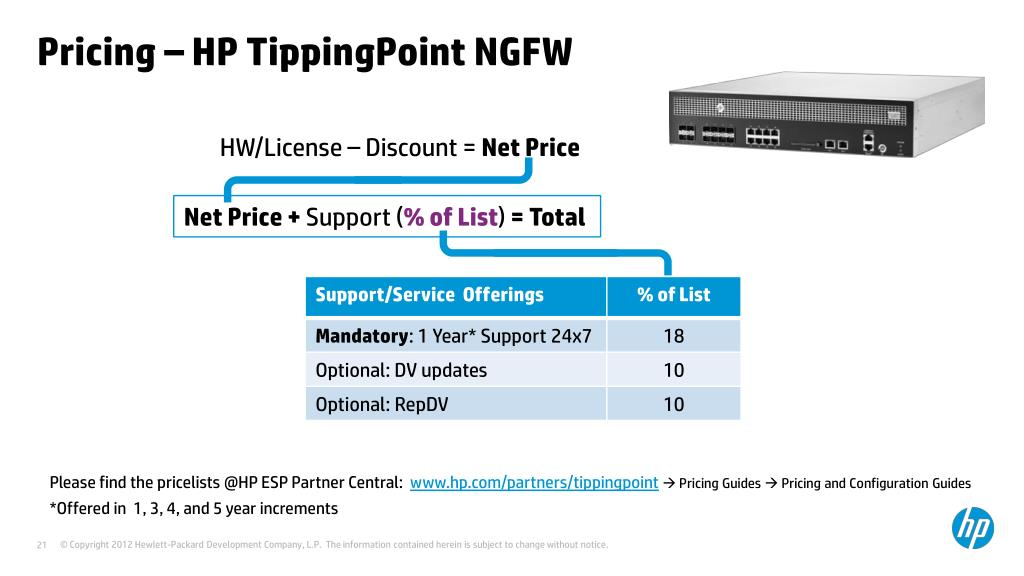 PPT - HP TippingPoint Module 4 : PoC 2 - NGFW v1 0