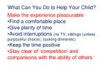 what can you do to help your child1