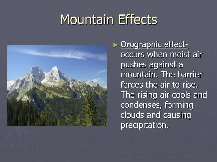 Mountain Effects