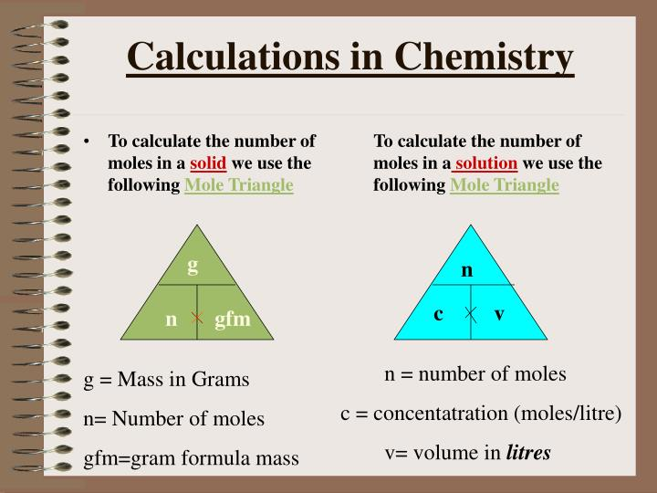 Ppt Calculations In Chemistry Powerpoint Presentation Id 5922821
